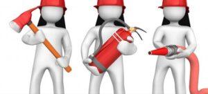 Brigada de incêndio - Primeiros são os Equipamentos
