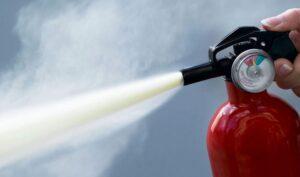 Extintores de Incêndio - Manuseio do extintor